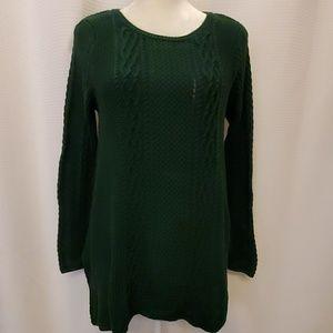Darling cotton sweater, size small. EUC